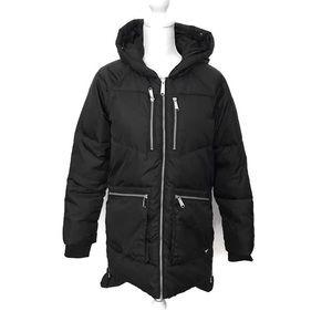 Black Puffer Coat Sam Edelman XS